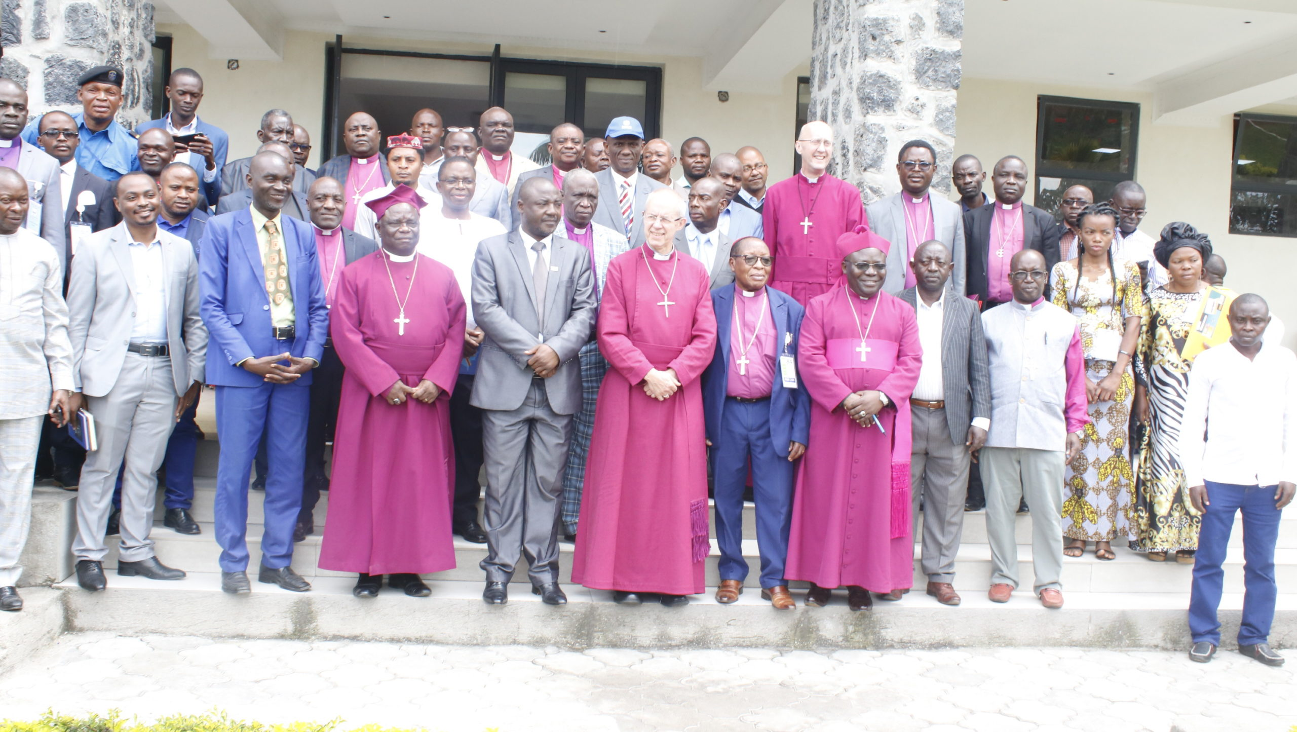 Faith leaders at the Ebola information training session.