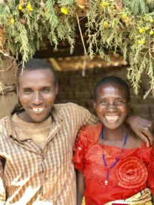Debbie Dortzbach of World Relief works with couples like this one in Burundi in Families for Life