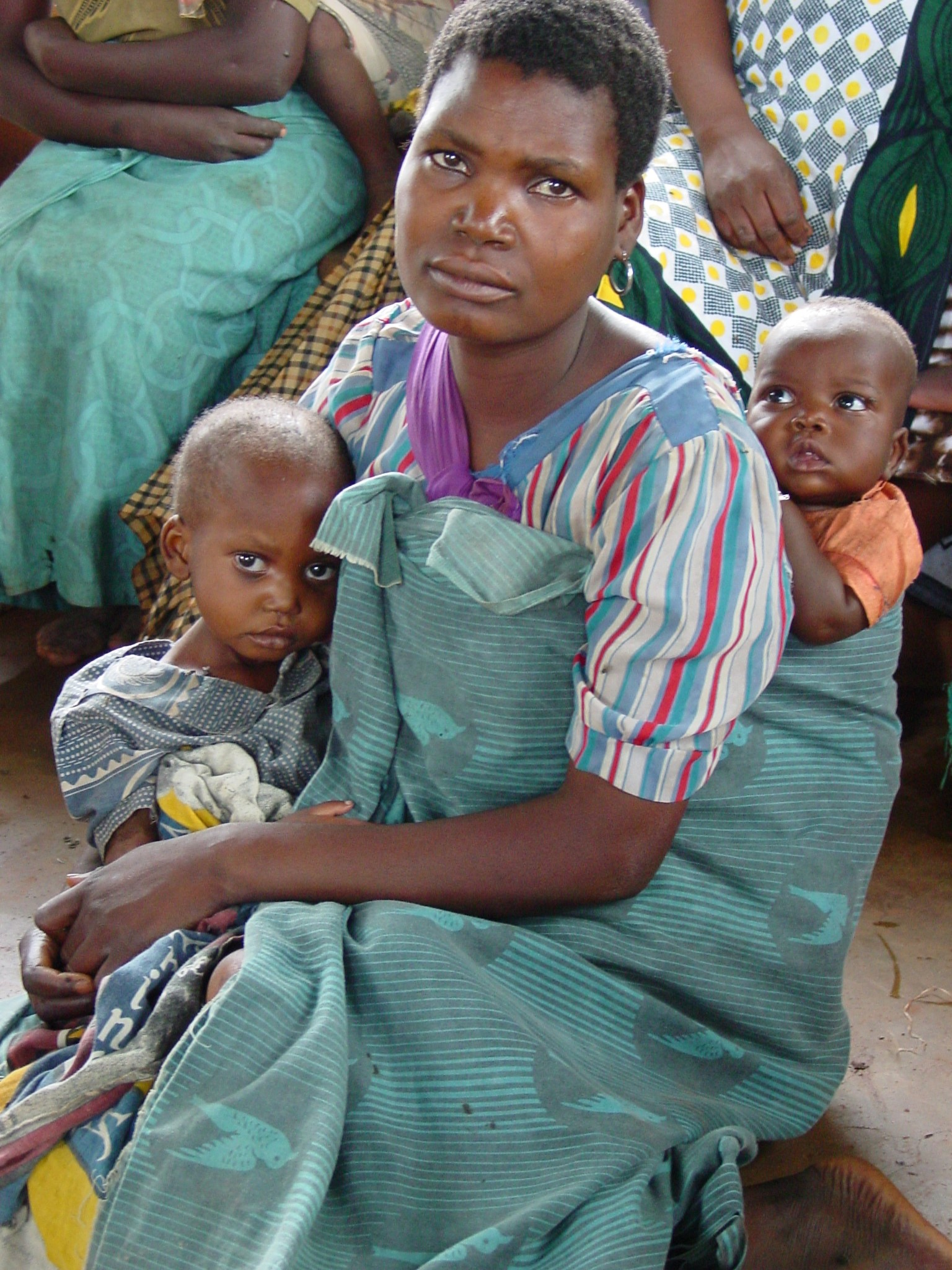 A woman and a young child in Malawi.